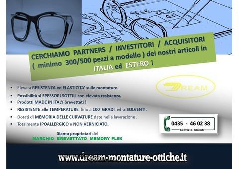 L'innovazione  degli  occhiali  made  in  Italy ..passa  da  Dream !