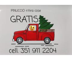 Sgombero gratis appartamenti cantine  Roma e provincia